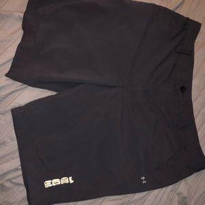 Under armour shorts - semi waterproof material